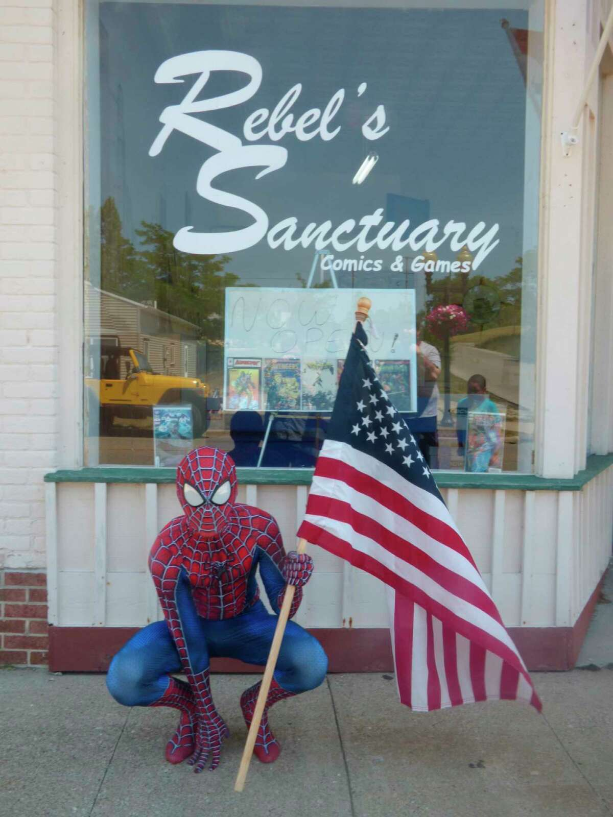 Rebel's Sanctuary in Manistee is hosting a Free Comic Book Day event on Aug. 14. (File Photo)