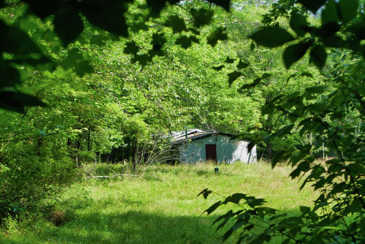 A view of the former Camp Barker on Dyken Pond Road on Wednesday, Aug. 11, 2021, in Grafton, N.Y.