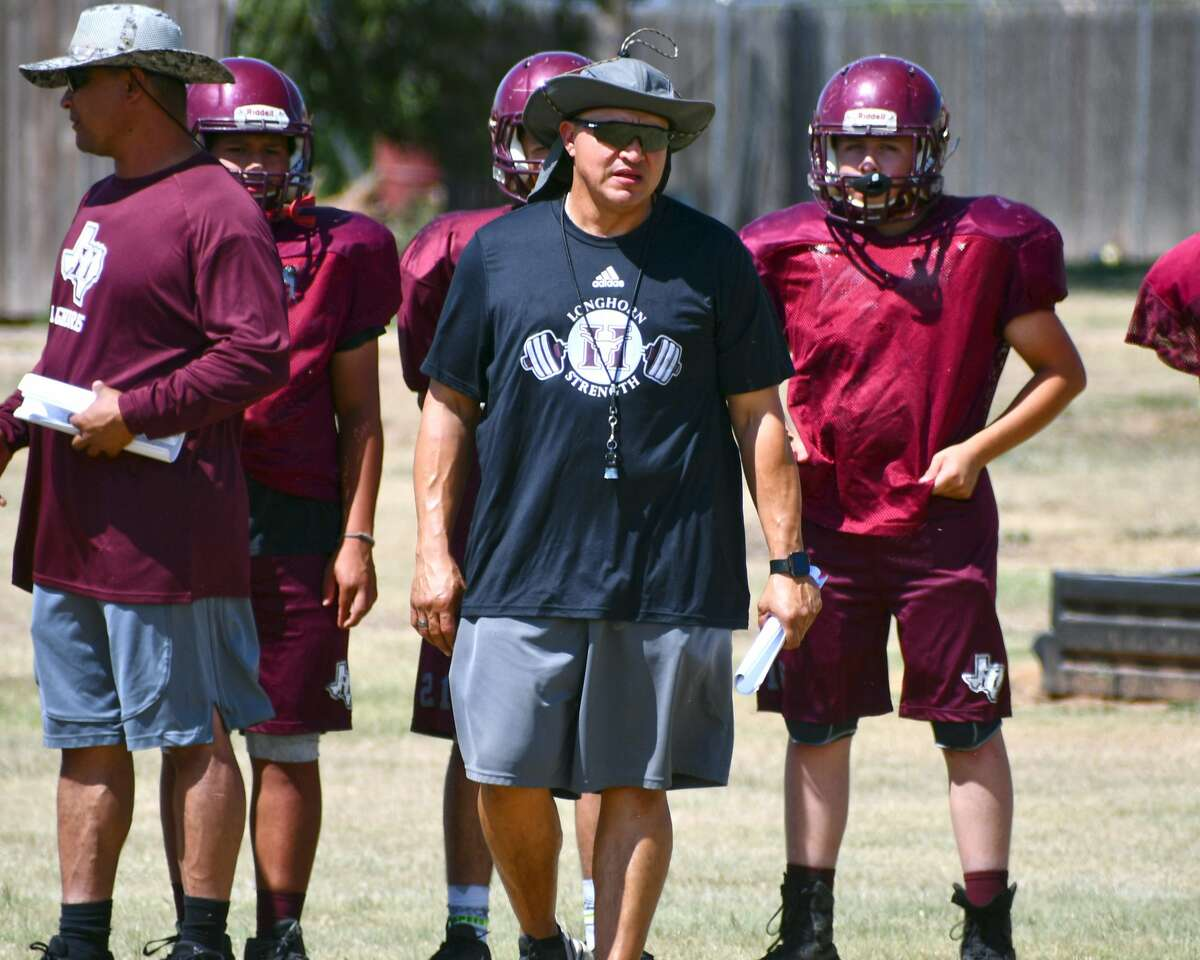 The Hart football team continued preseason preparations for the 2021 season during Wednesday afternoon's practice.