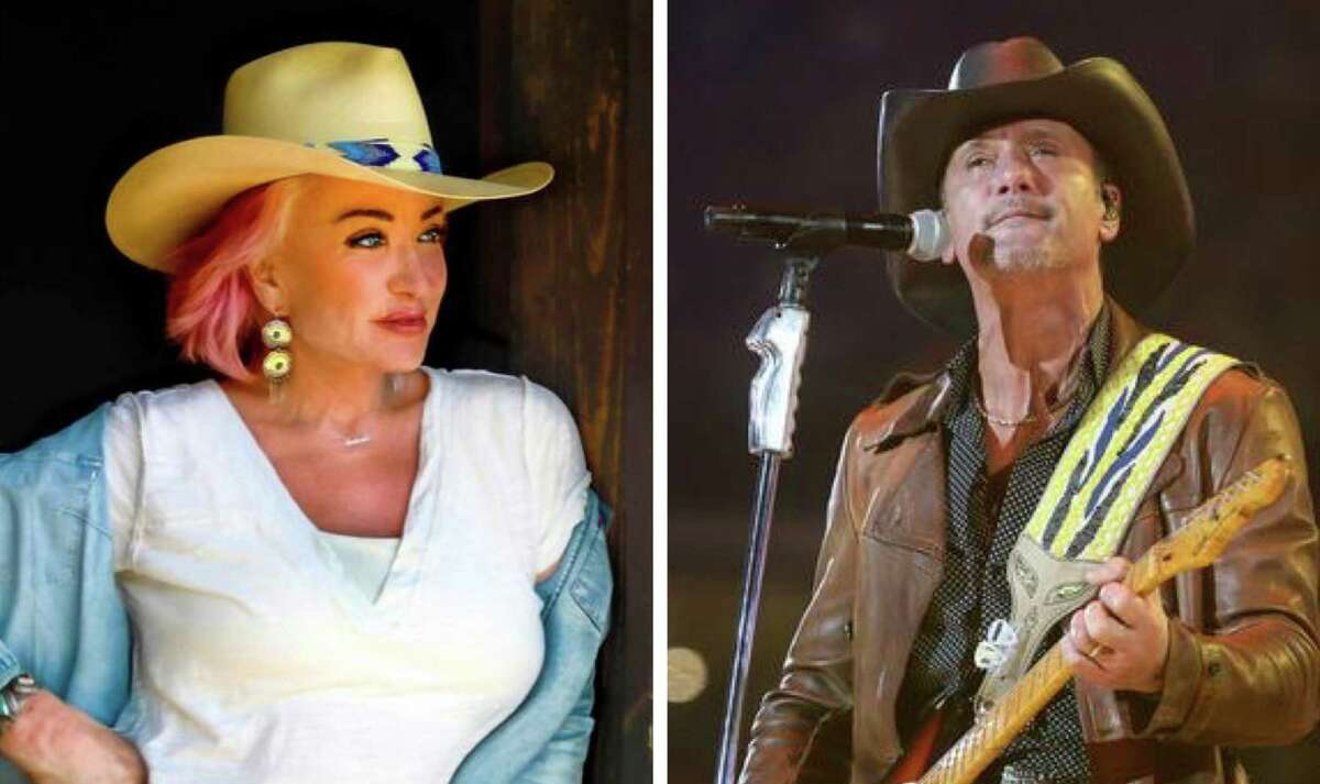 Country music legends Tanya Tucker, left, and Tim McGraw have been added to the concert lineup for the 2022 San Antonio Stock Show & Rodeo.