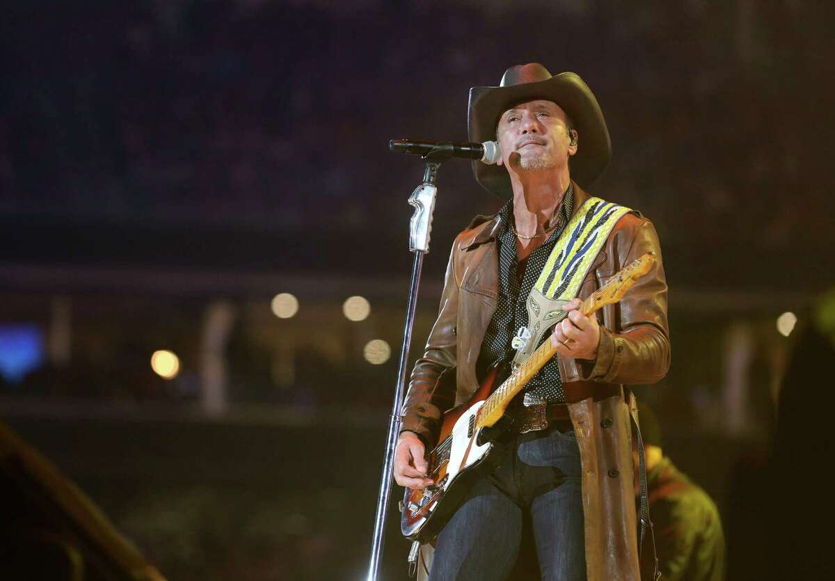 Tim McGraw is among the performers slated to play during the 2022 San Antonio Stock Show & Rodeo.