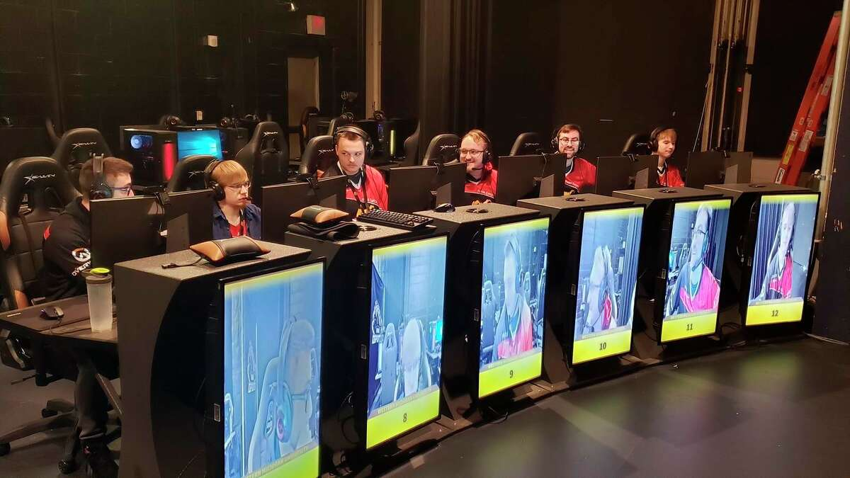 The e-sports program at Ferris State University would see a significant upgrade in facilities and production capabilities, thanks to accommodations planned in the Center for Virtual Learning, a $29.5 million facility set for construction near the Ferris Library for Information, Technology, and Education. Ferris has had an e-sports program for nearly four years. (Courtesy photo)