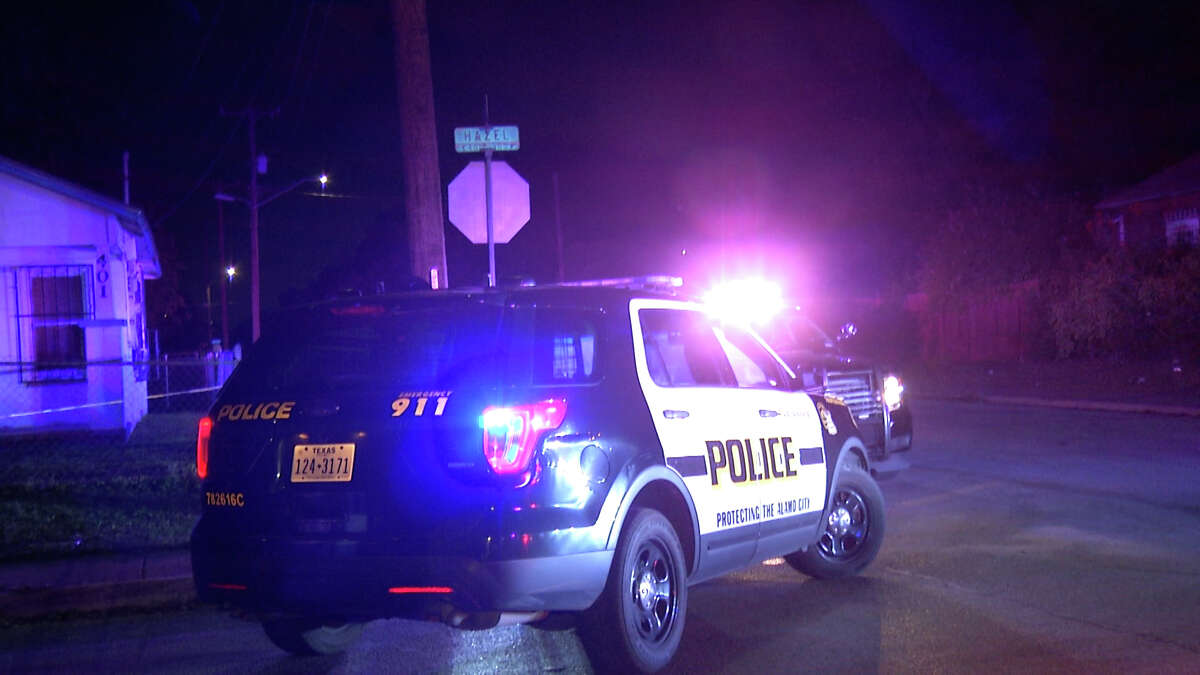Two people are dead and two others remain in critical condition after a quadruple shooting in the 400 block of Hazel Street on Aug. 11, 2021, San Antonio police said.