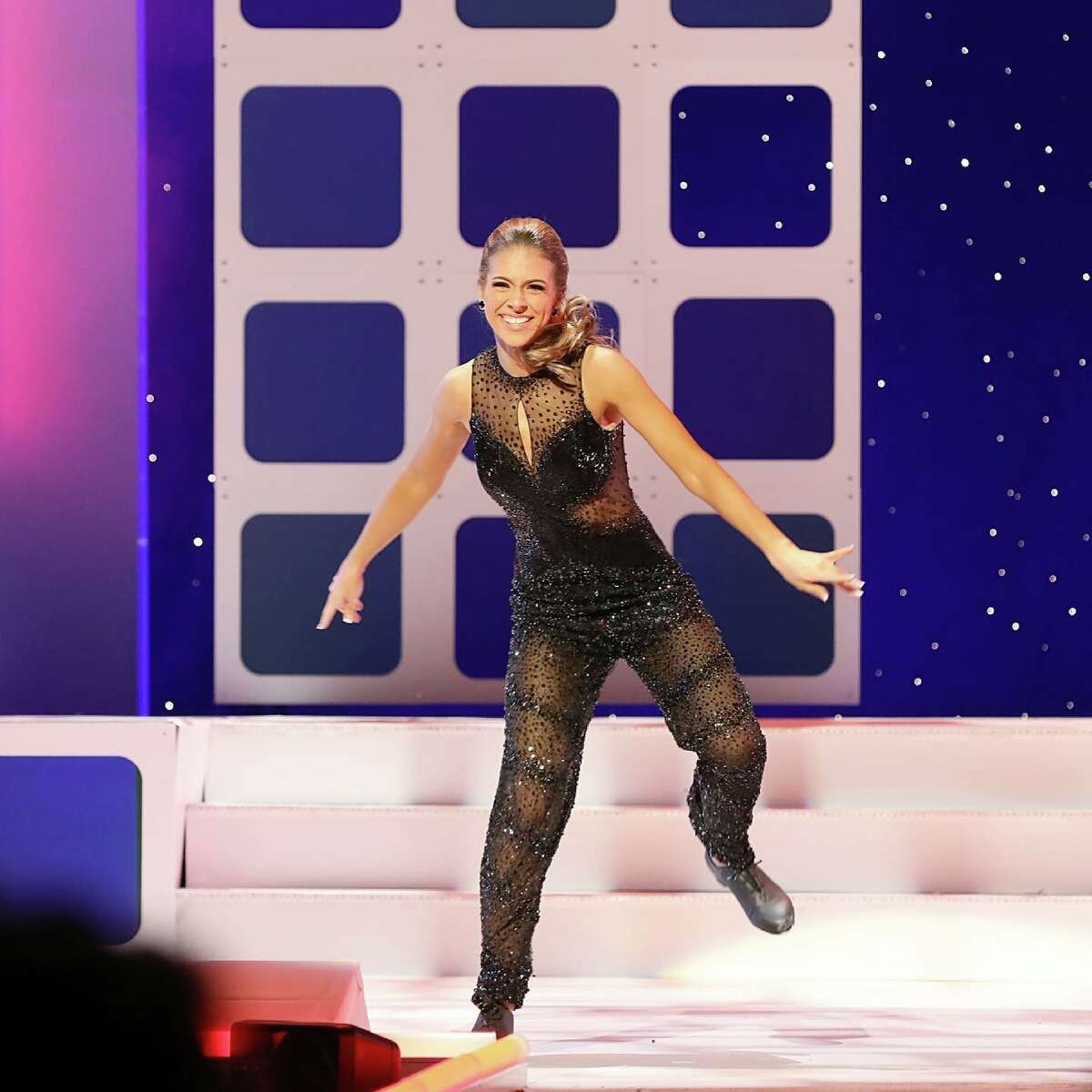 """In talent competition for the Miss Texas Volunteer pageant, Sharpless tap-danced to """"Ain't Nothing Wrong with That"""" by Robert Randolph and the Family Band. """"My mother owns a dance studio; so she put me in tap class when I was 2,"""" Sharpless says."""