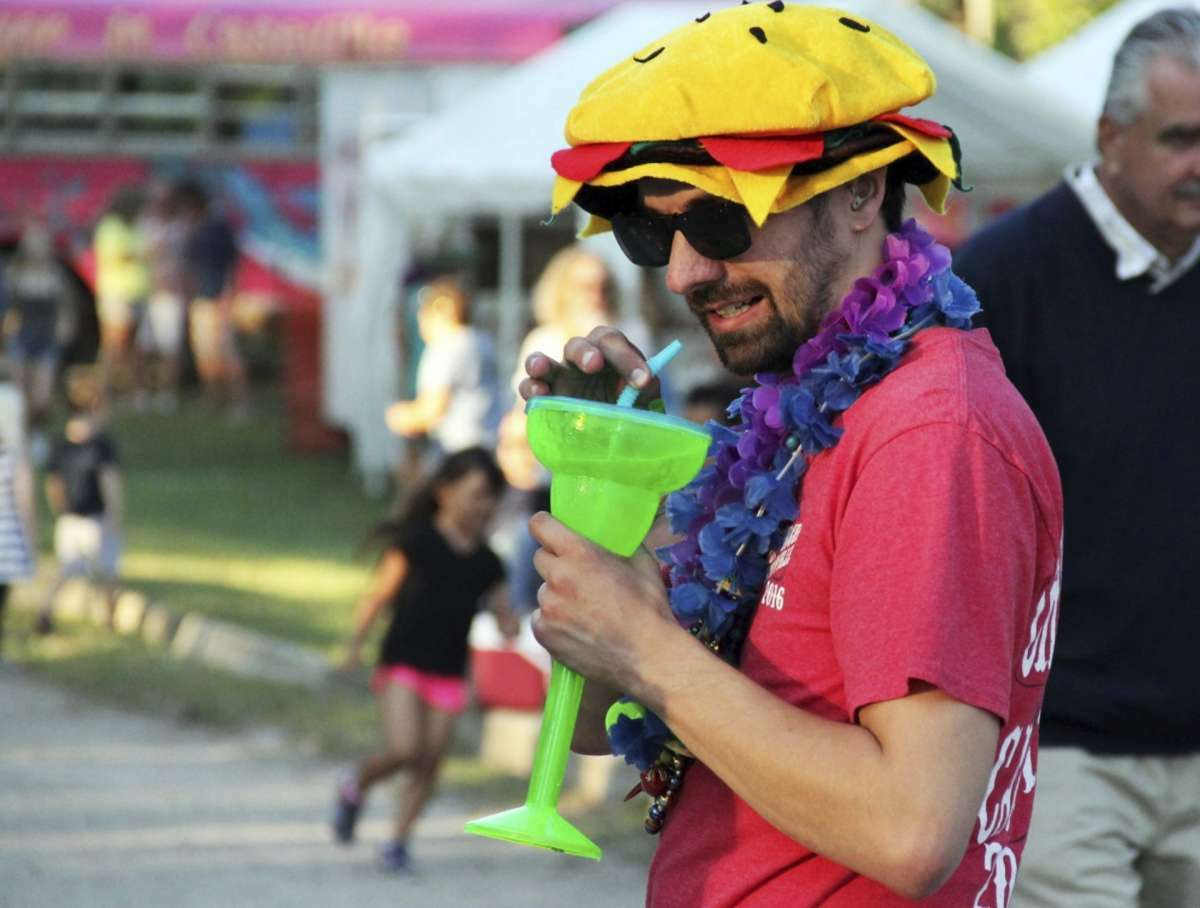 File - Cheeseburger in Caseville fest continues this week with family fun activities, live music and plenty to eat and drink.