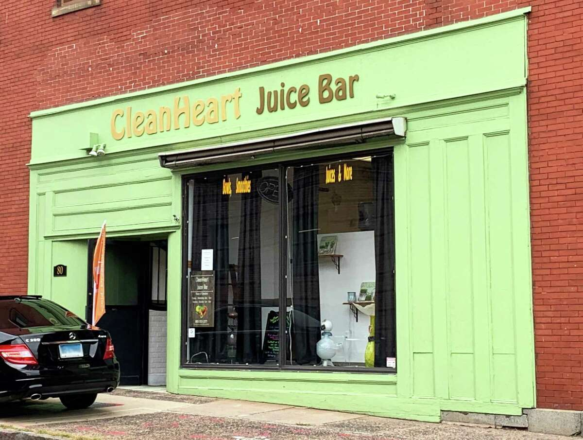 CleanHeart juice bar is located at 80 Washington St. in Middletown.