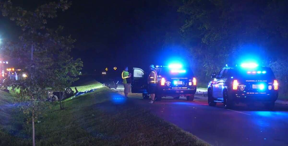 Police investigating a fatal crash on the 3100 block of Wilson Road that happened early Thursday during an Humble police chase.