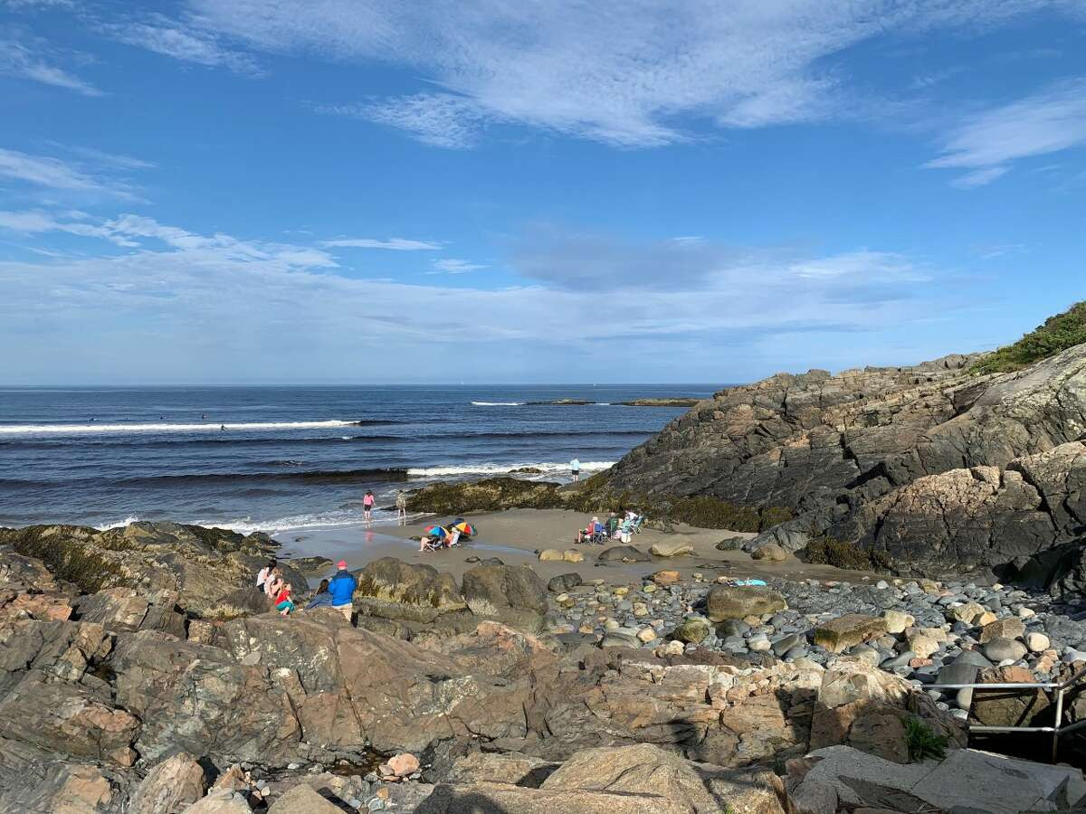 Marginal Way is a 1.25-mile cliff walk with incredible views of Ogunquit Beach.