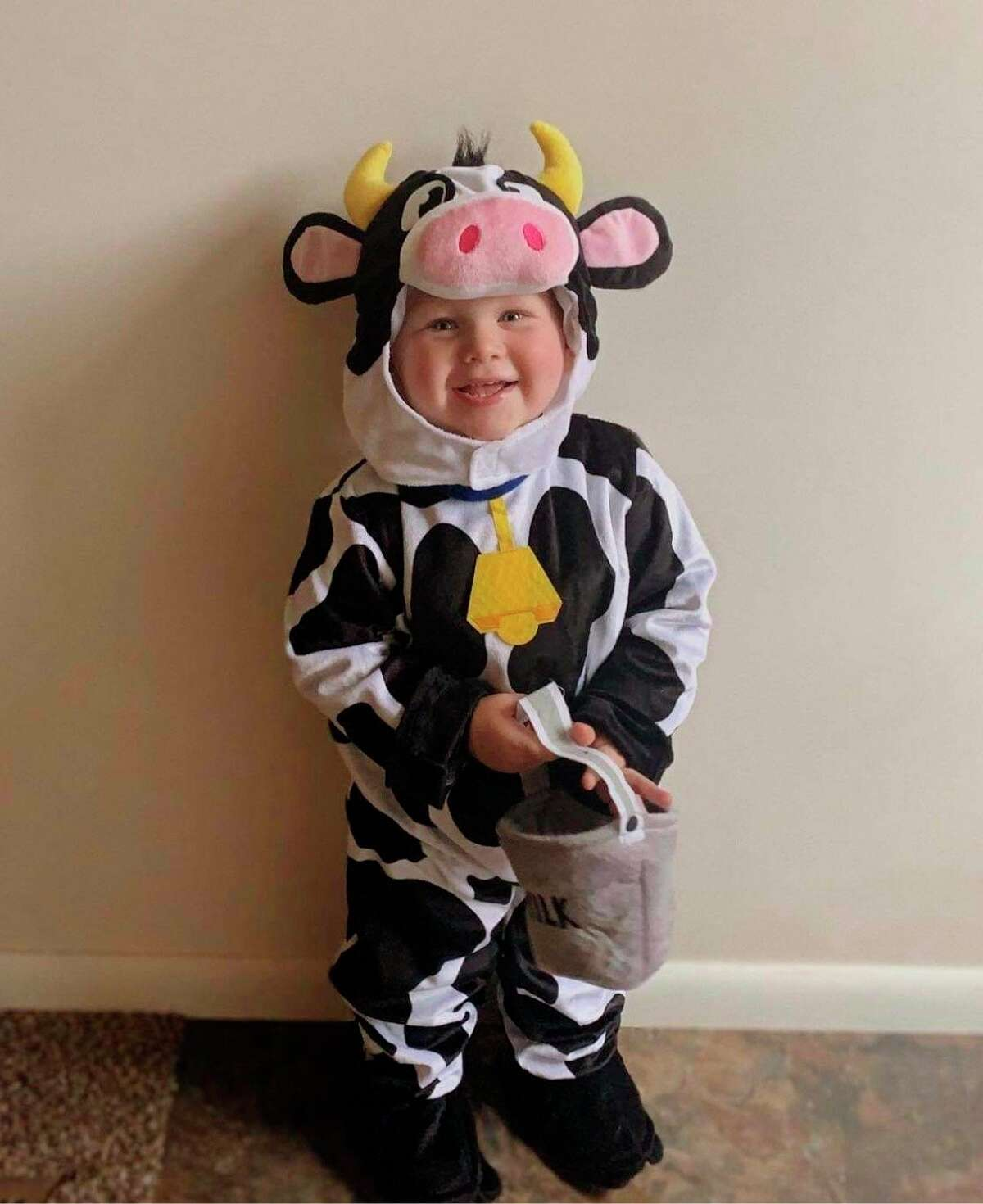 Declan Kuenzer, age 2, was a first prize winner of the Prince and Princess of Onekema contest in 2021. (Courtesy Photo/Tara Lyman)