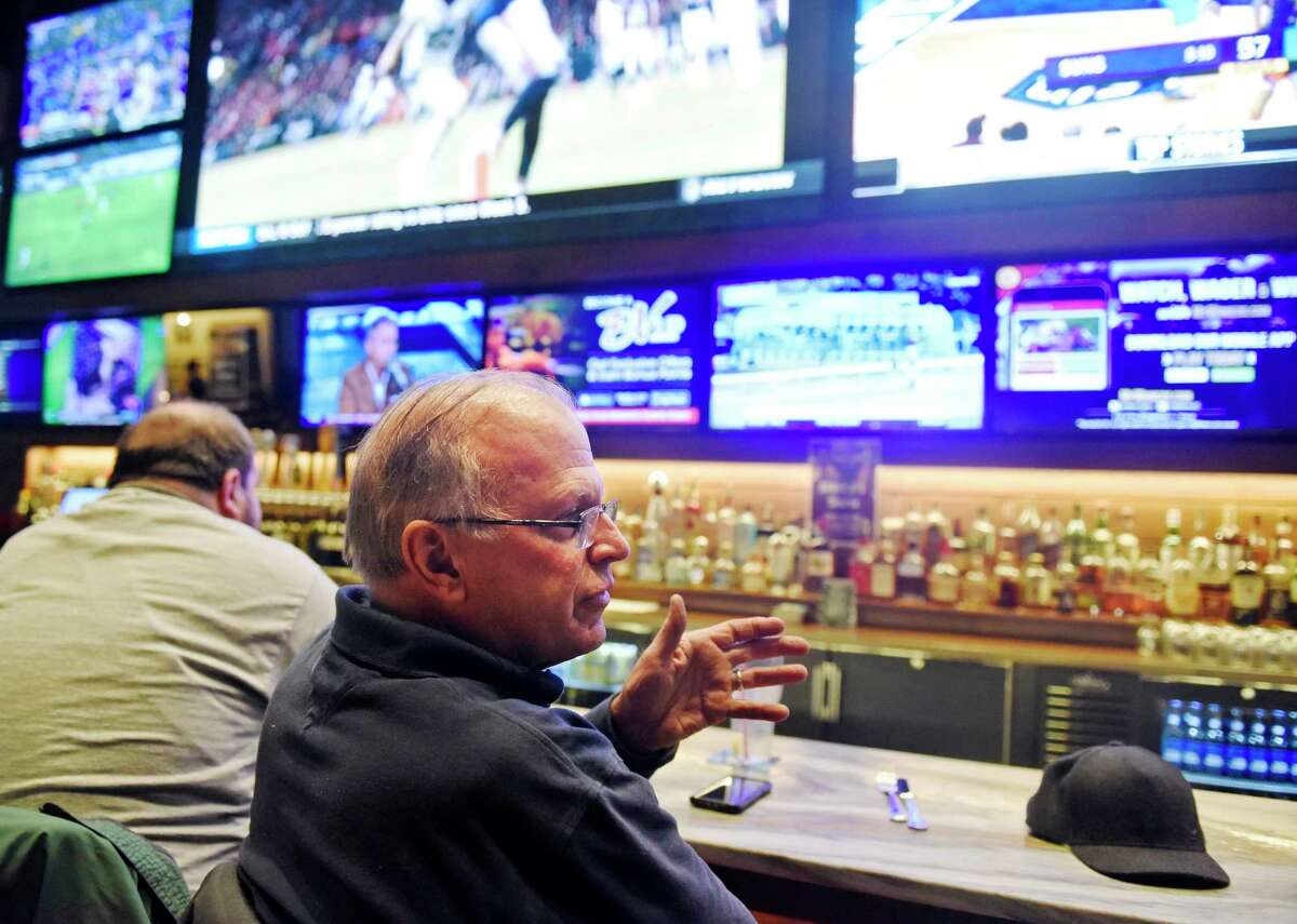 Patrons at a variety of statewide Off Track Betting locations operated by Sportech, including Bobby V's sports bar in Stamford, may be able to bet on sports games by the end of September, under a deal announced Thursday by the Connecticut Lottery Corp.