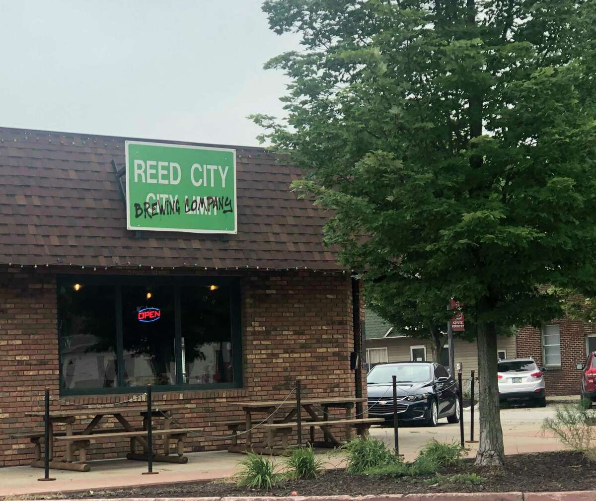 Located on Upton Ave. in downtown Reed City, Reed City Brewing Company is a favorite spot among locals. (Pioneer photo/Joe Judd)