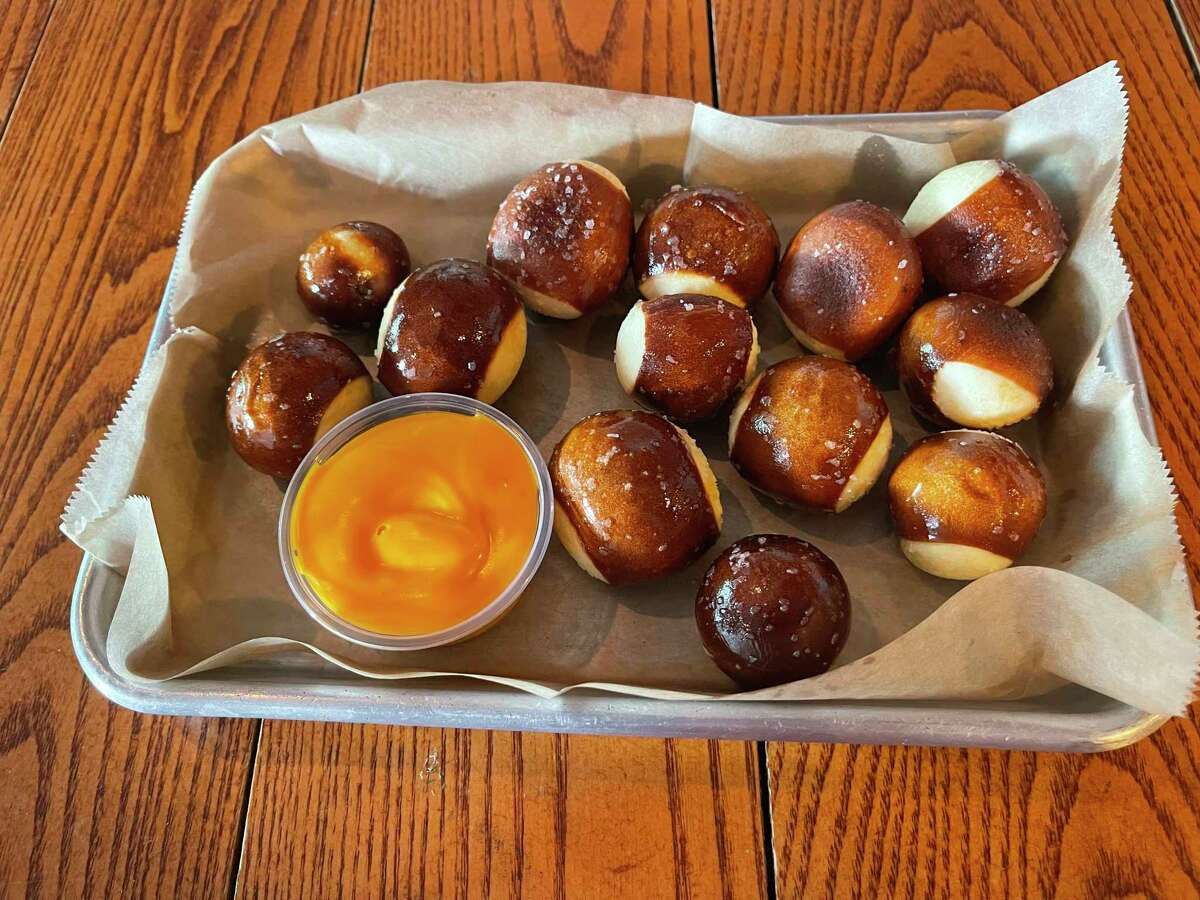 Soft pretzel bites with cheese dipping sauce. Need we say more? (Pioneer photo/Joe Judd)