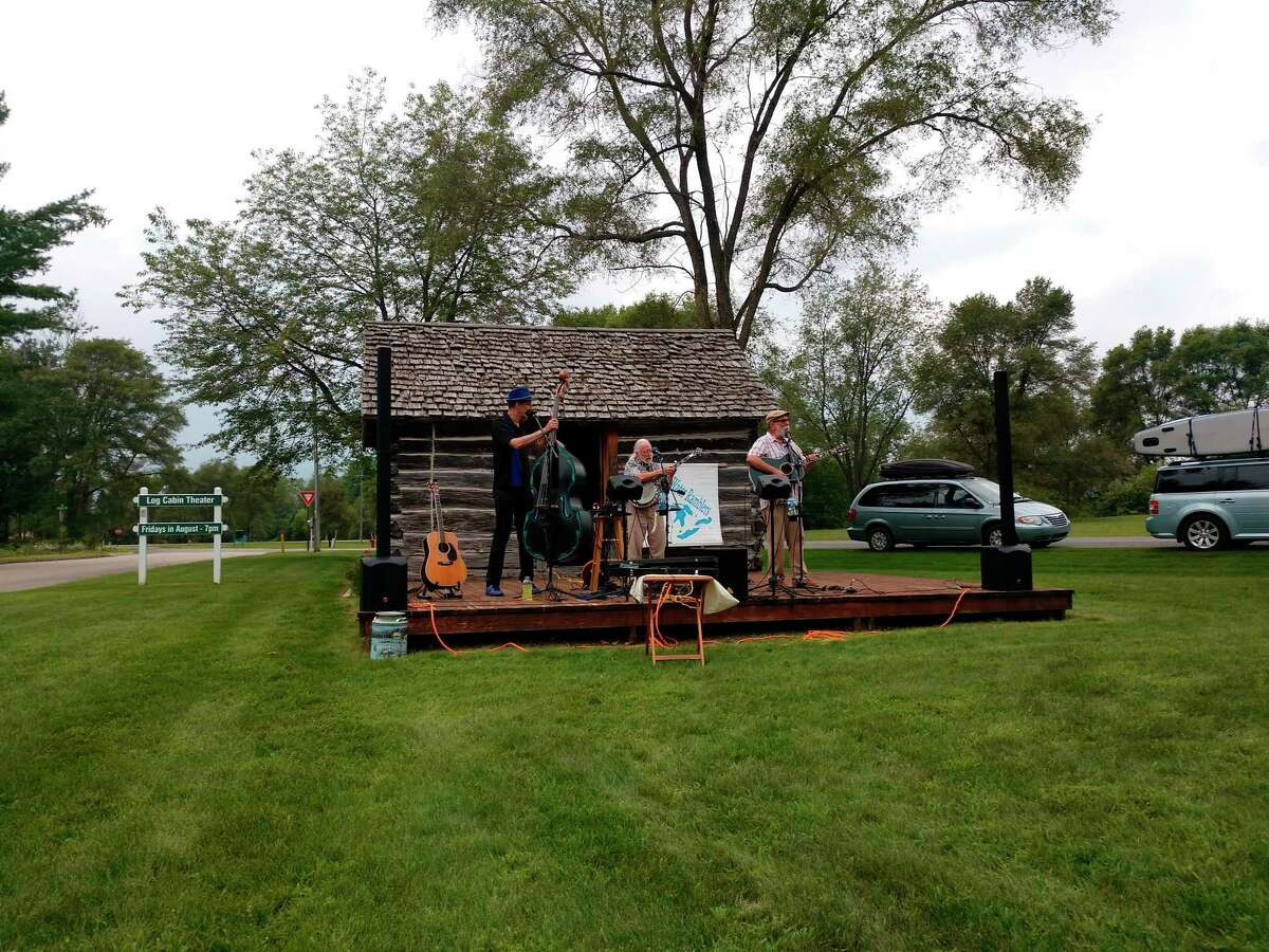 Blue Water Ramblers performed at Kaleva's Log Cabin on Aug. 6. The series continues through the end of the month at theLog Cabin Theater in Kaleva. (Courtesy photo)