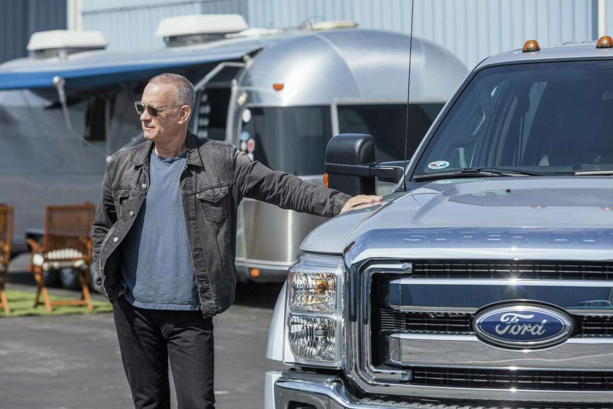 """Tom Hanks is selling his custom made trailer that he lived in while on set for some of his most popular films, including """"Forrest Gump"""" and """"The Green Mile."""" It's among four vehicles owned by the Bay Area native offered at auction this week."""
