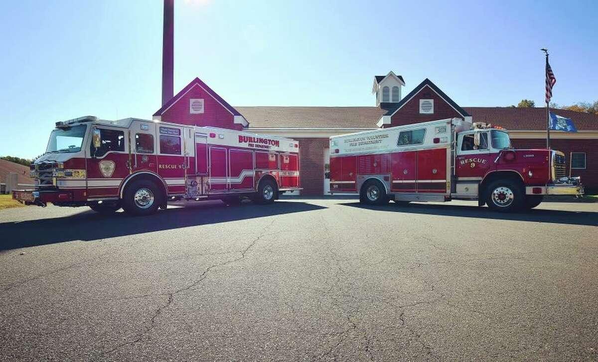 Burlington fire apparatus