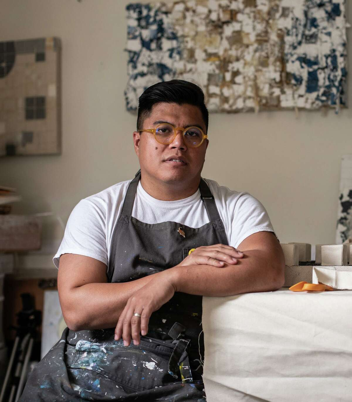 Houston artist Matt Manalo is among the emerging artists featured at the McNay Art Museum as part of the 2021 Texas Biennial exhibition.