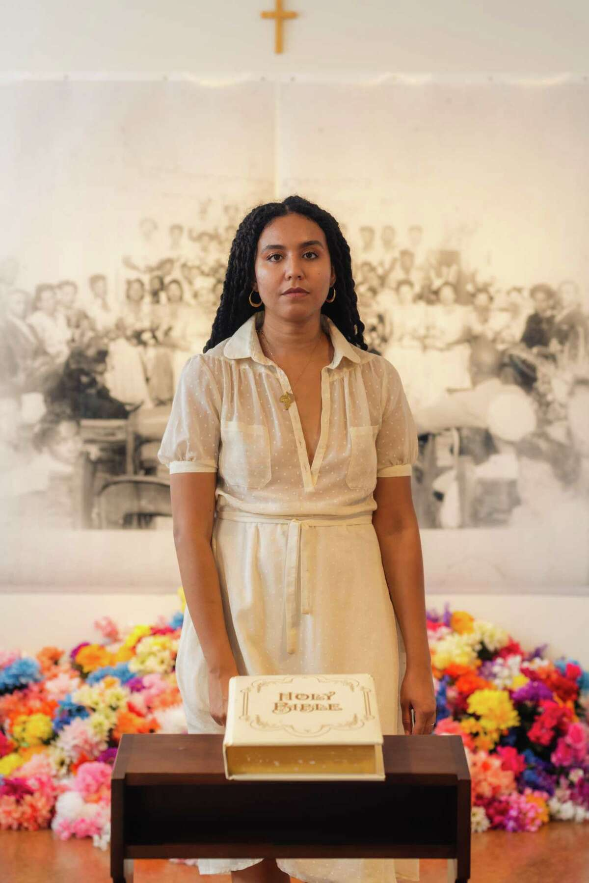 """Artist Irene Antonia Diane Reece's installation """"Home-goings"""" will be installed at the McNay Art Museum as part of the 2021 Texas Biennial exhibition."""