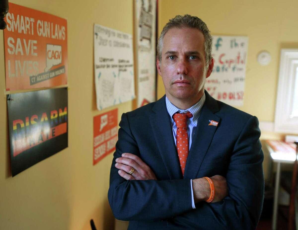 Connecticut Against Gun Violence executive director Jeremy Stein, November 18, 2020.