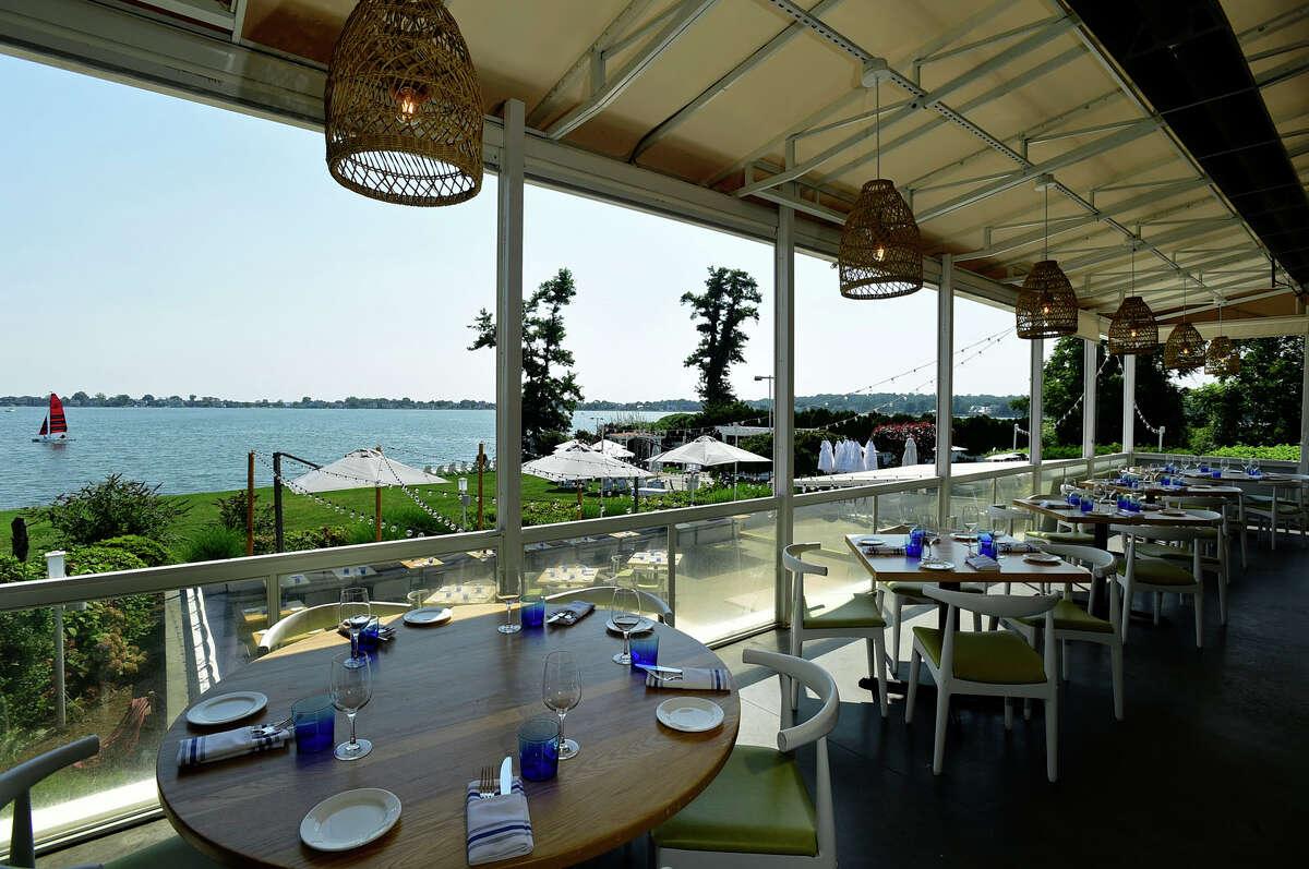 La Plage restaurant at the Longshore Inn in Westport