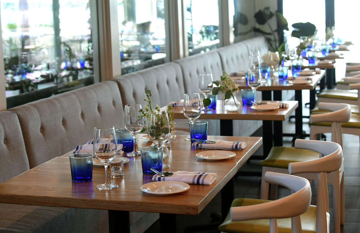 La Plage restaurant at the Longshore Inn in Westport.