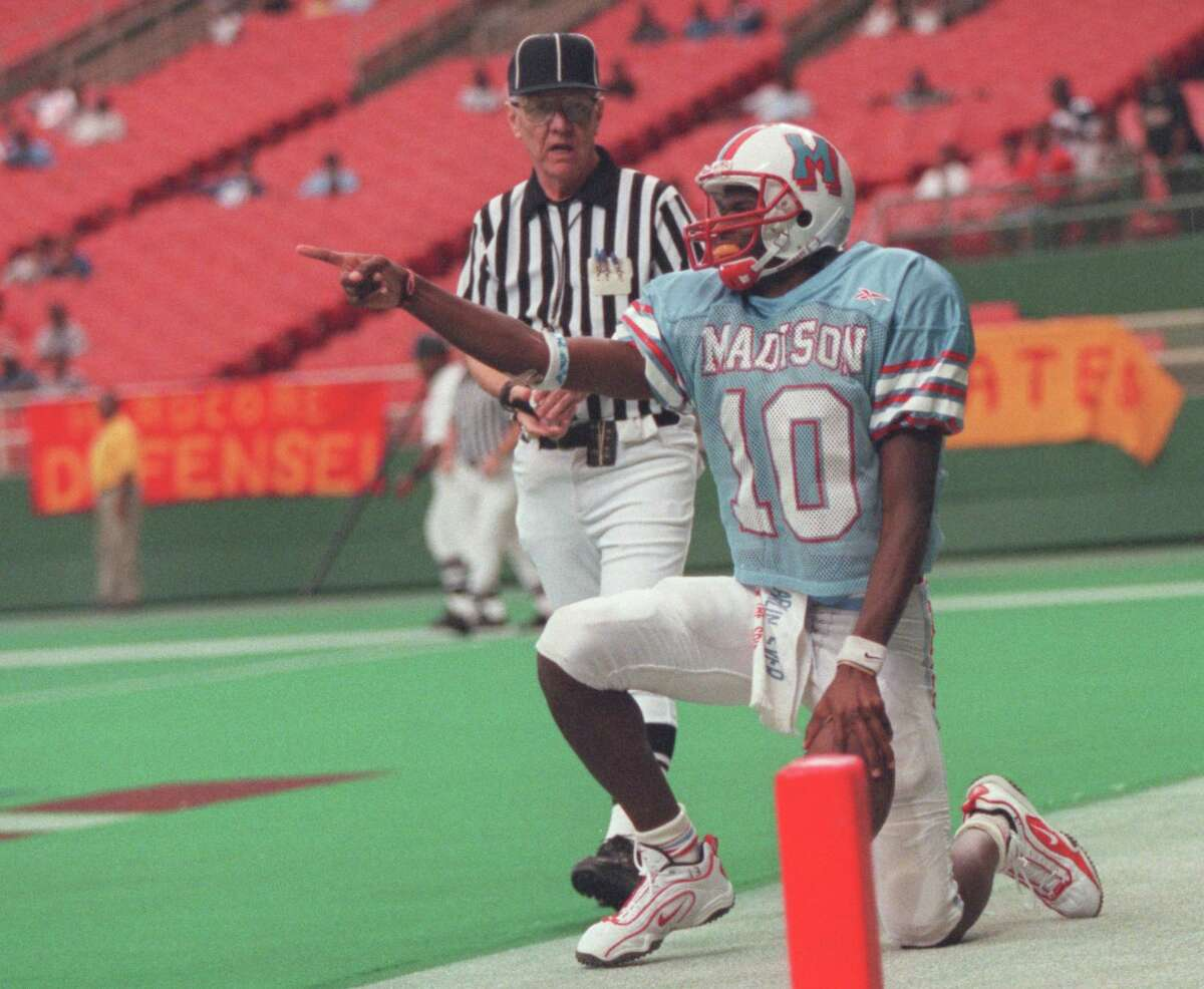 Before he led Texas to a national tile, Vince Young was a star at Madison.