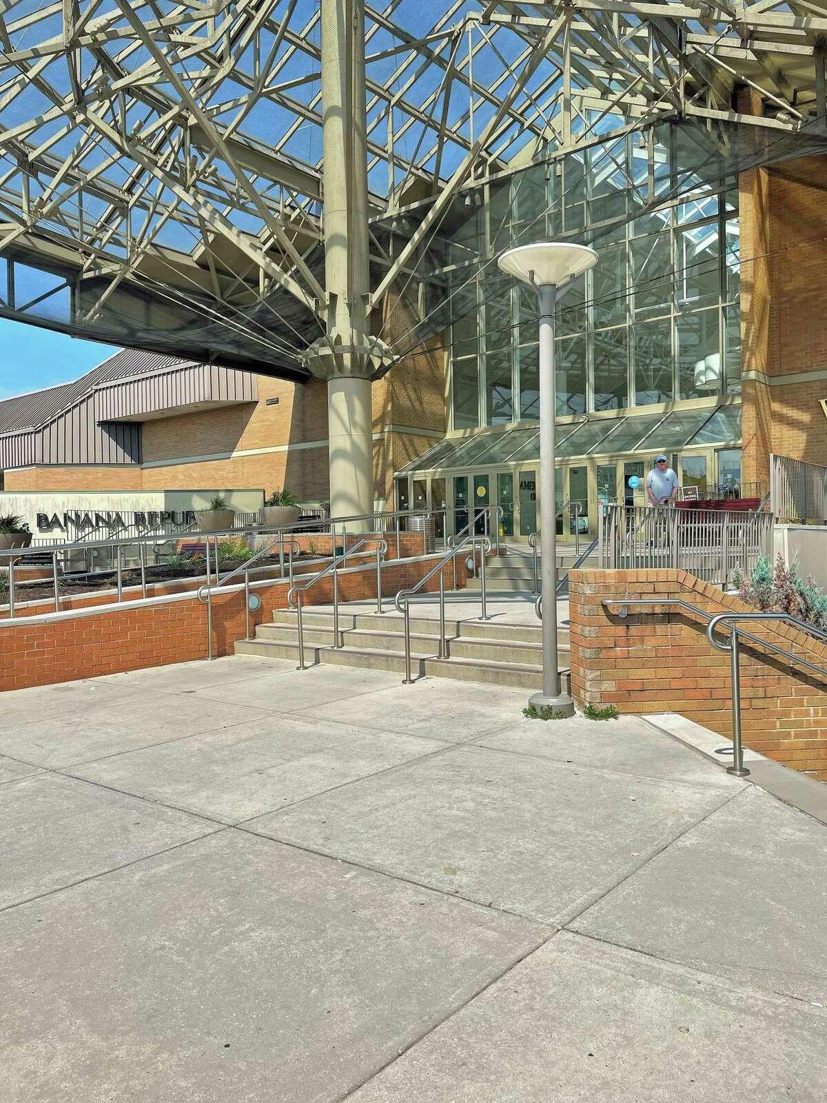 The exterior of the Danbury Fair mall in Danbury on Thursday, Aug. 12, 2021.