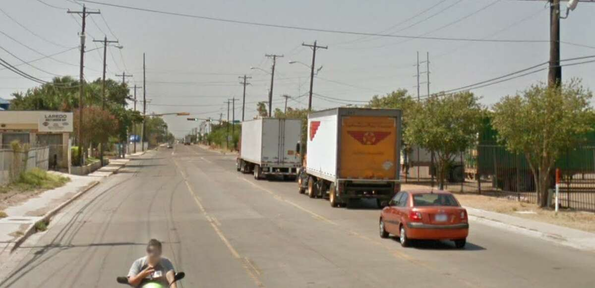 Pictured is the 7100 block of Santa Maria Avenue. The Laredo Police Department confirmed a man died after climbing onto a tractor-trailer as he slipped off and it ran him over.