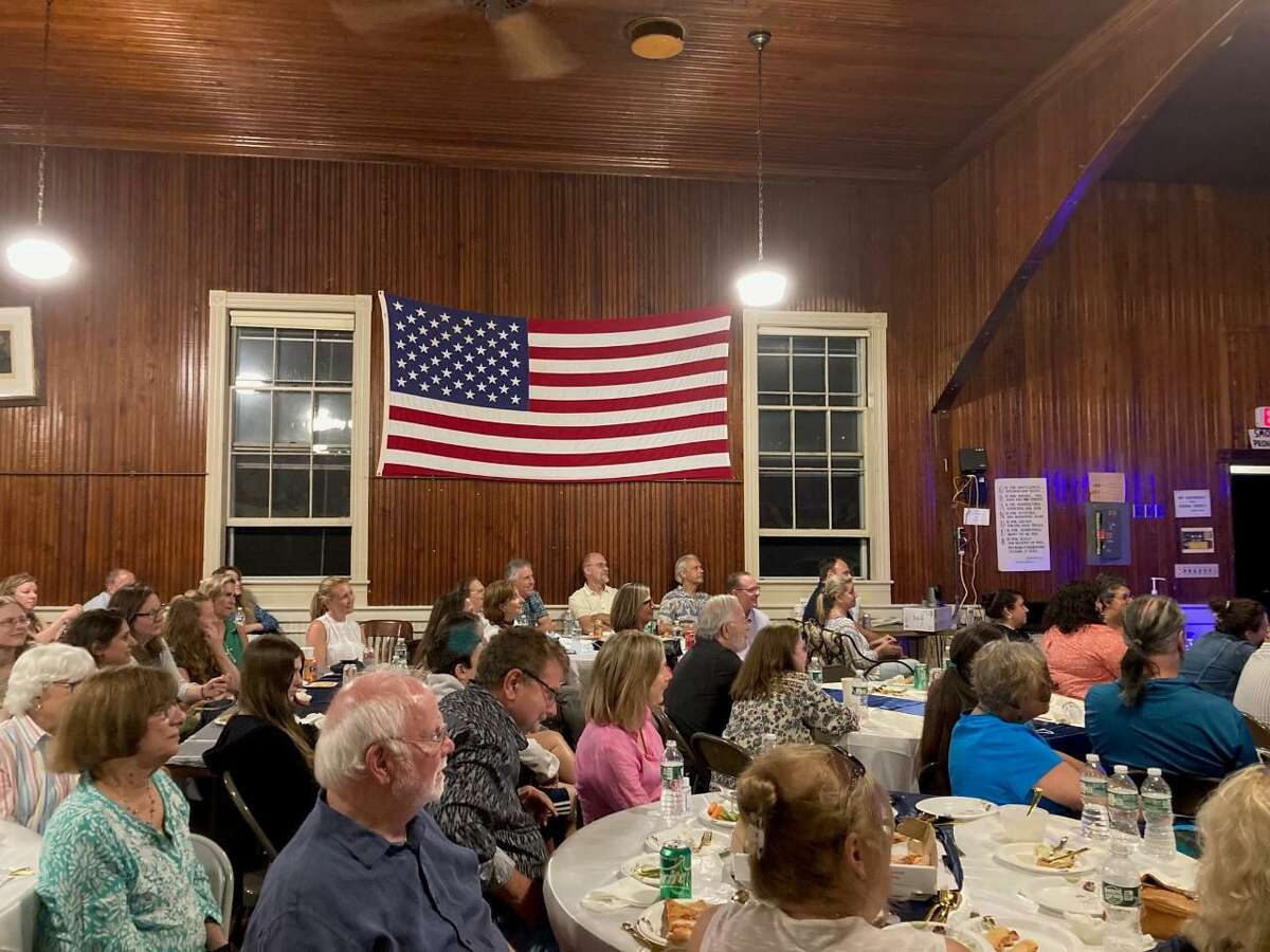 As businesses had been reopening, and sporting events taking place with fans, and live performances coming back to Broadway amid the coronavirus pandemic, Comedy Night in Wilton at the Cannon Grange was a resounding success on Saturday, July 24.