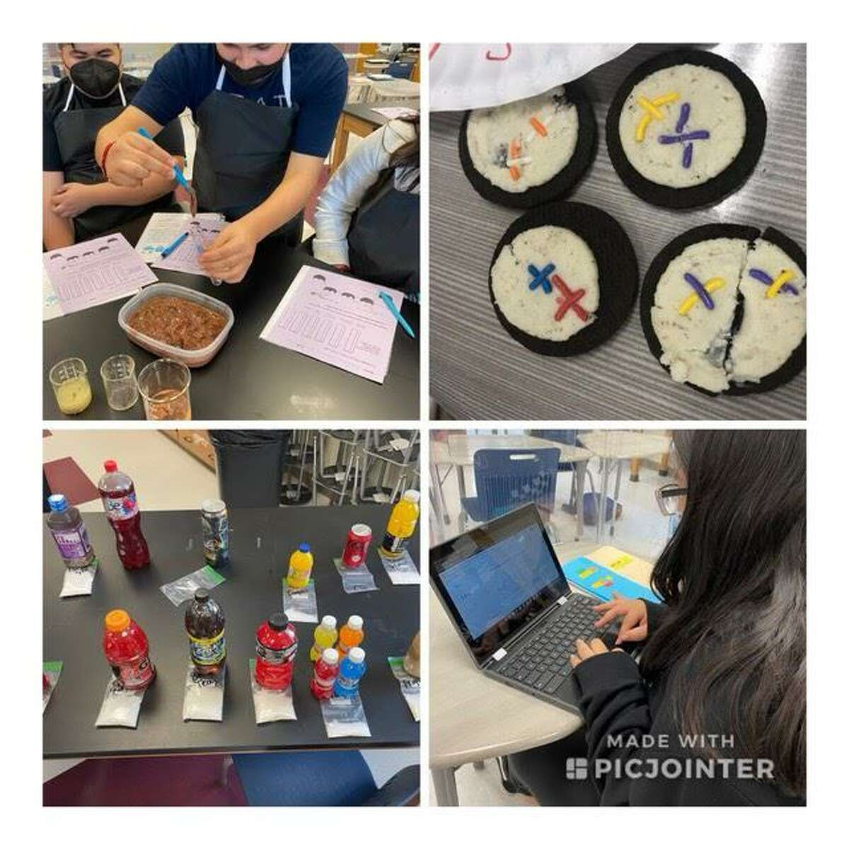 LBJ ninth graders attended an LBJ Jumpstart Program camp to get a head start in learning biology.