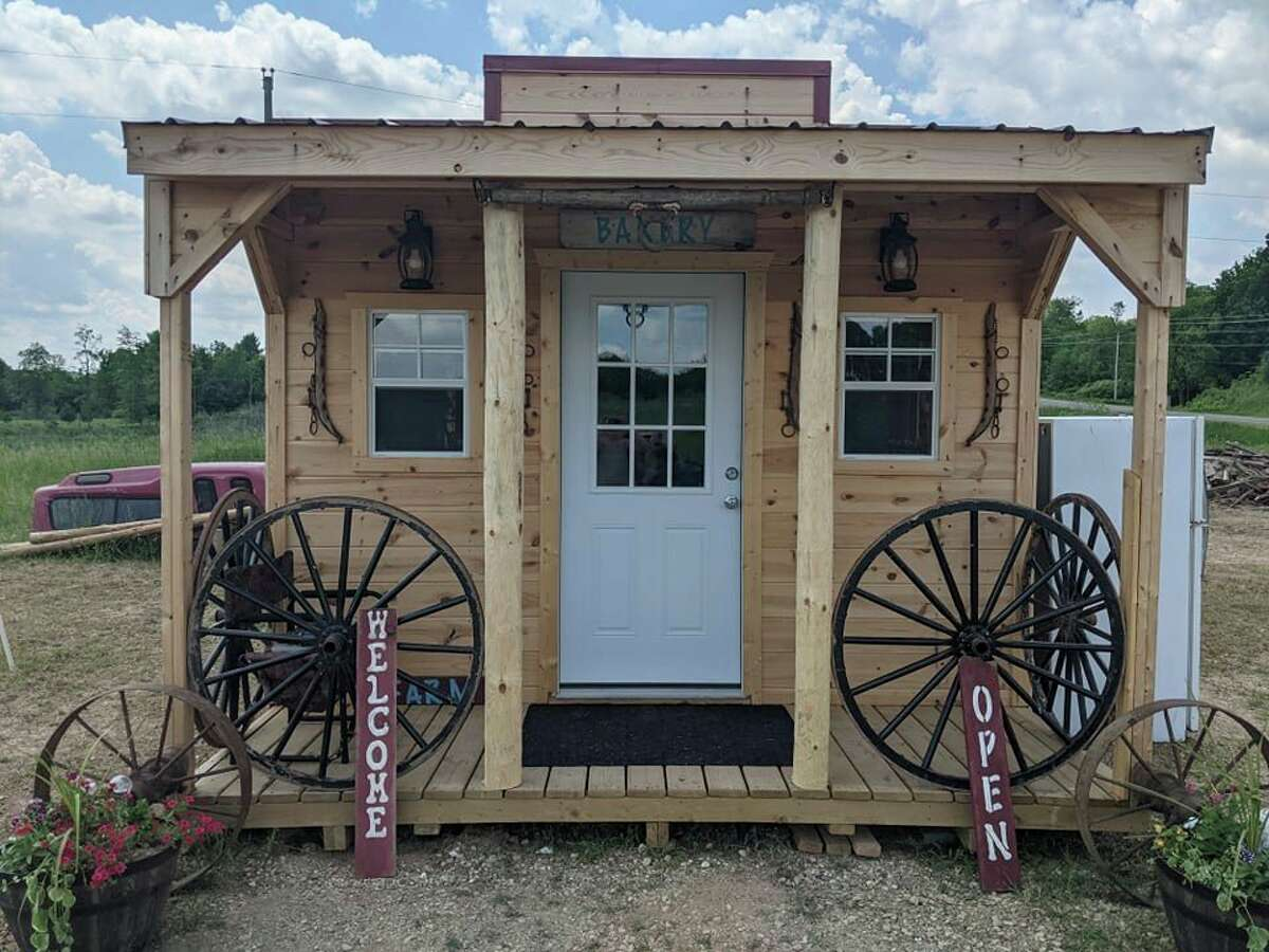 The Pineview Bake Shop is located at 6679 20 Mile Road in Evart and offershomemade specialty bread, cookies, sweetbreads, cinnamon rolls, specially made gourmet popcorn, and other various items. (Courtesy/Renee Earle)