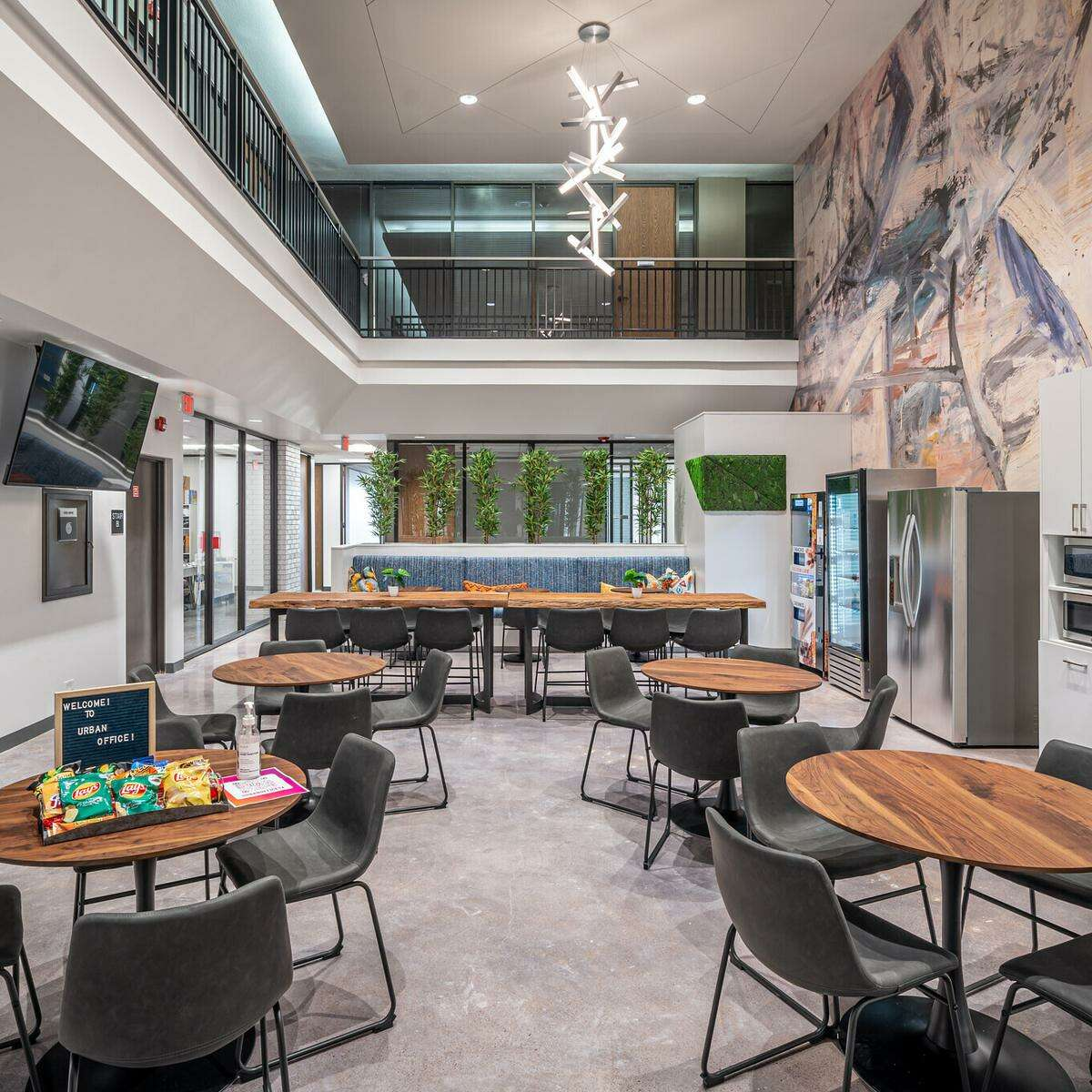 Urban Office is one of Houston's latest office concepts with currently four locations.