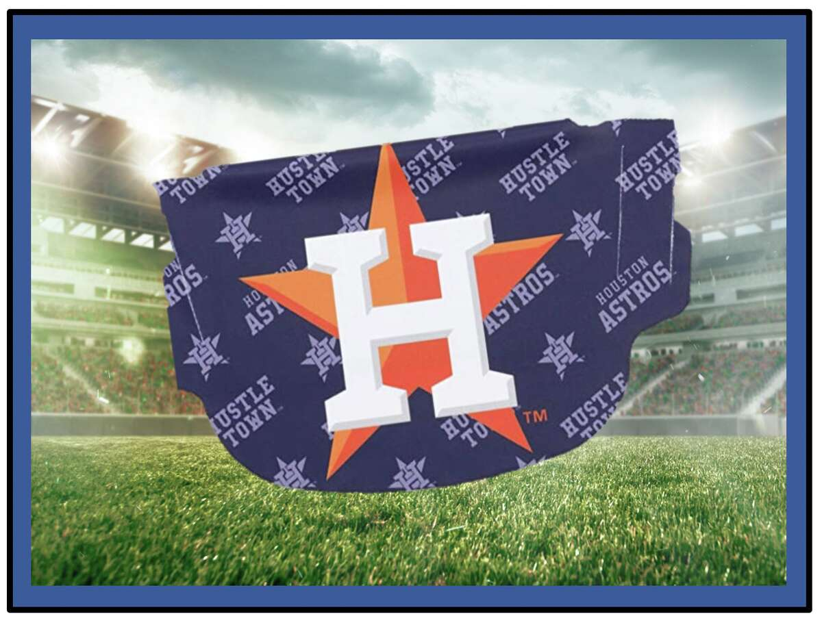 Cool face masks for Houston sports fans