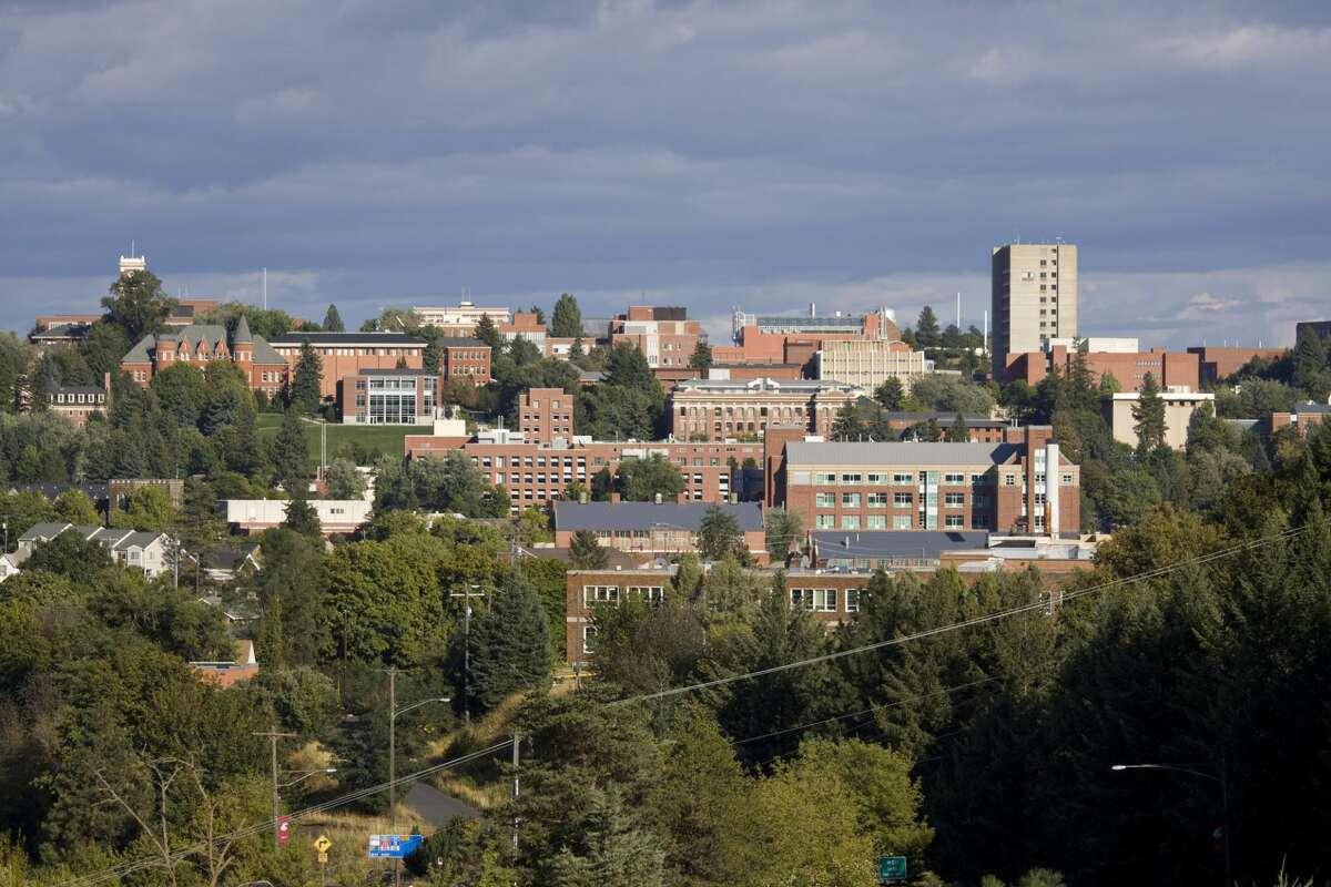 The campus of Washington State University in Pullman, Washington