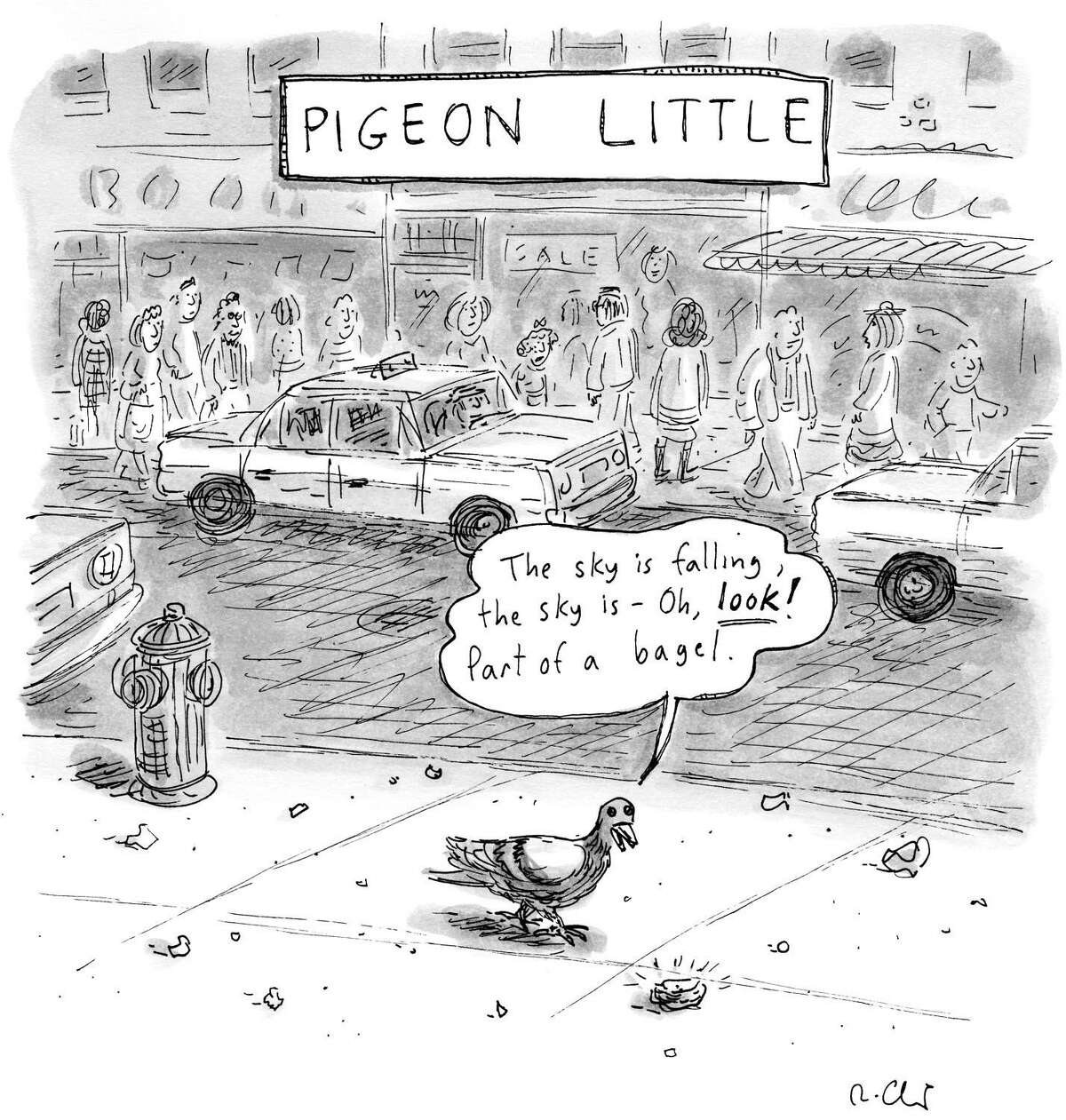 Roz Chast, a cartoonist whose work has been featured in The New Yorker and other publications, is appearing at Carol Corey Fine Art in Kent Aug. 14.