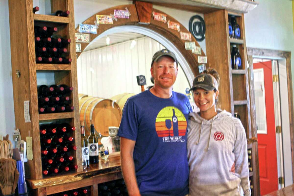 Mark and Abby Young boughtThe Winery at Young Farmsback in 2003. (Pioneer photo/Joe Judd)