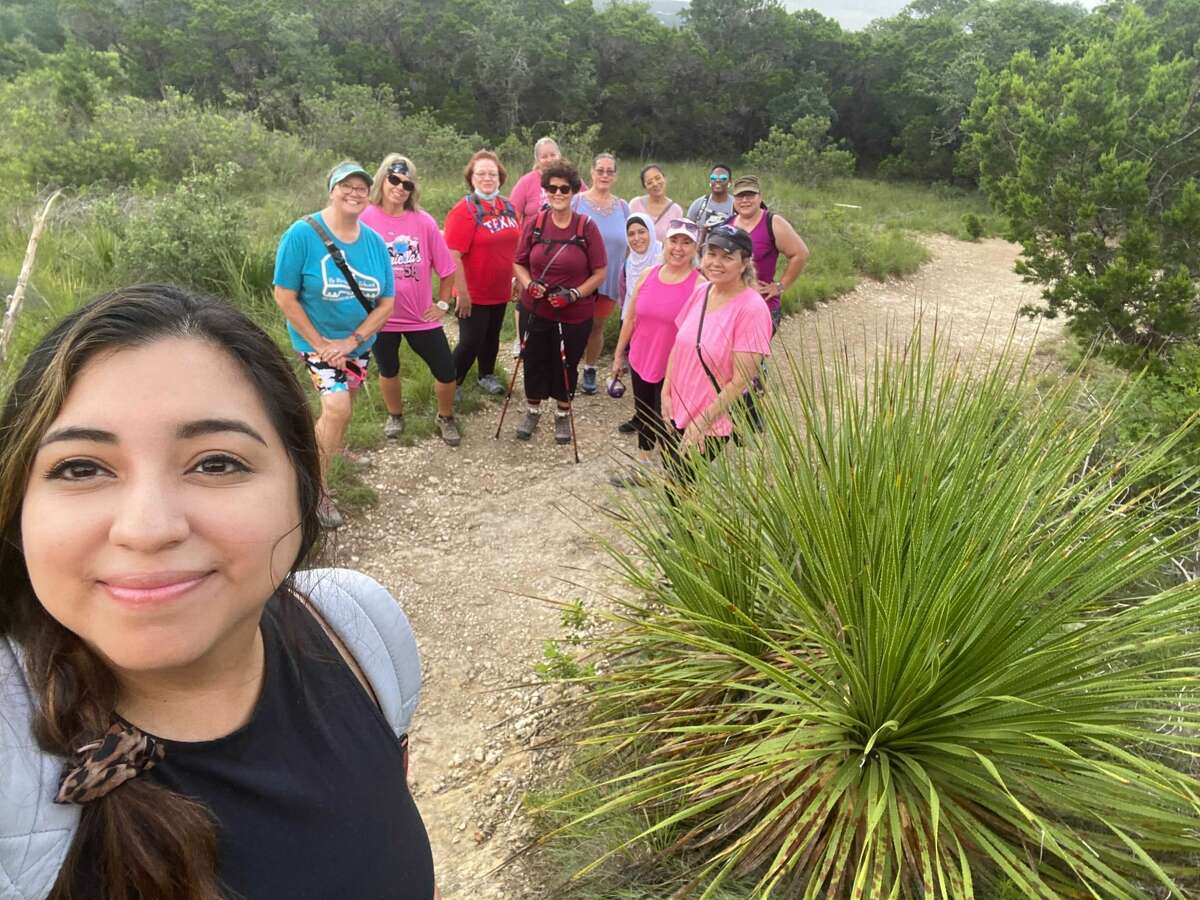 The San Antonio Plus Sized Women's Hiking group welcomes all shapes, sizes and ages.