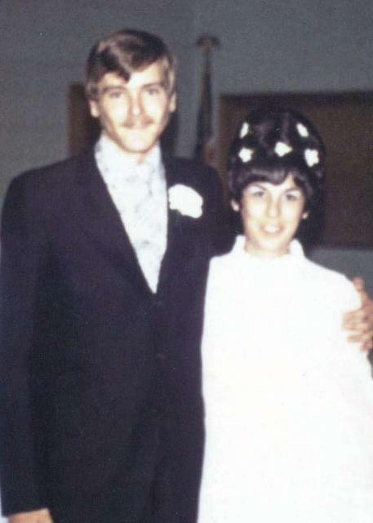 Dave and Mary Eckhouse at their wedding