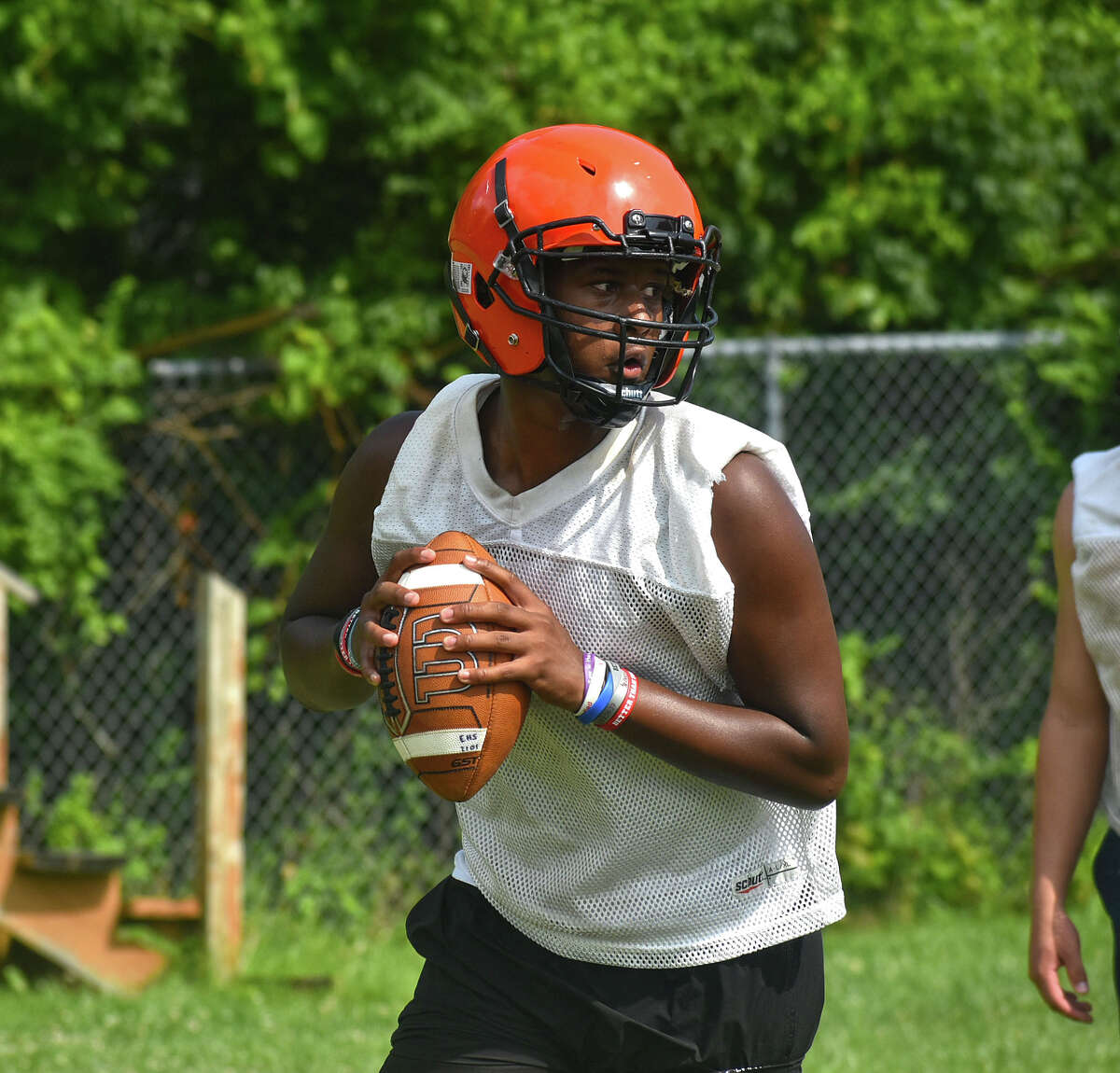 The Edwardsville football team hit the practice field Thursday in preparation of the upcoming season. The Tigers open the 2021 schedule at De Smet on Aug. 27 in St. Louis.
