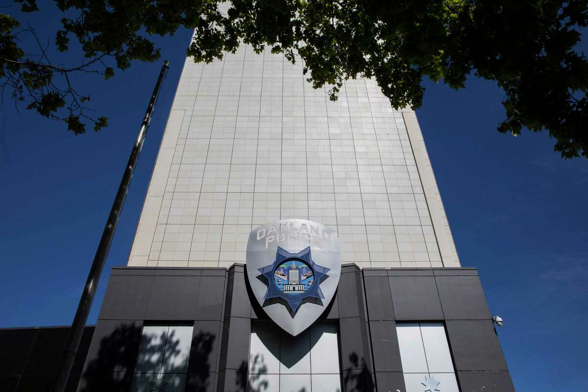 Oakland Police Department headquarters in downtown Oakland.