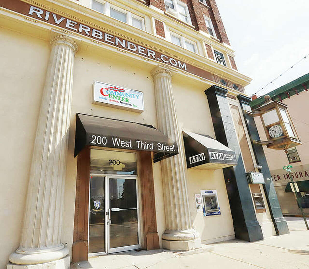 The Riverbender Community Center, located at the corner of 3rd and Belle streets in downtown Alton, may be transfered to the City of Alton for operation. - John Badman The Telegraph