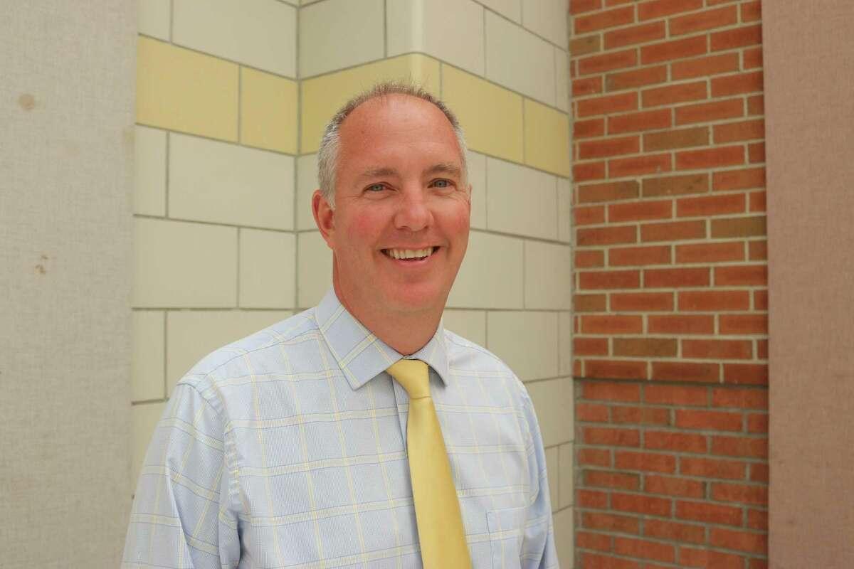 Jonathan Marko is the interim principal at Jonathan Law High School