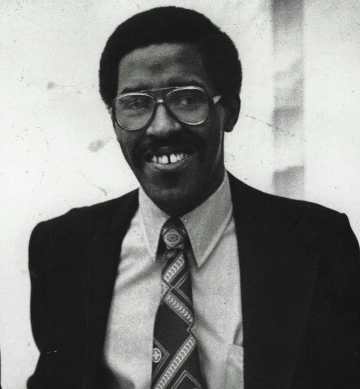 Herbert Hughes in February 1978.