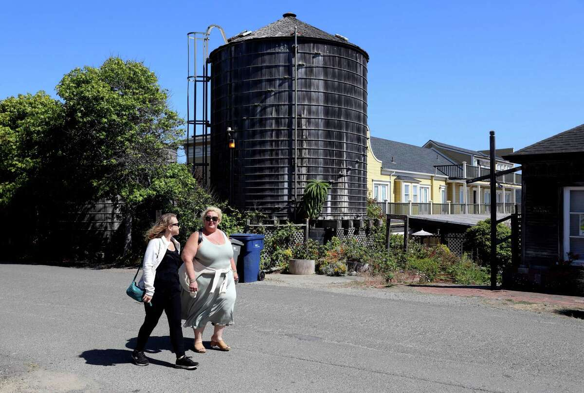 Mendocino is running low on water, and many of the city's wells are running dry.