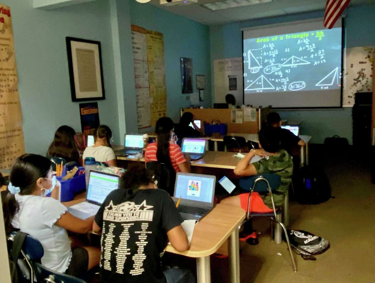 Students in the summer learning program at Jericho Partnership in Danbury.
