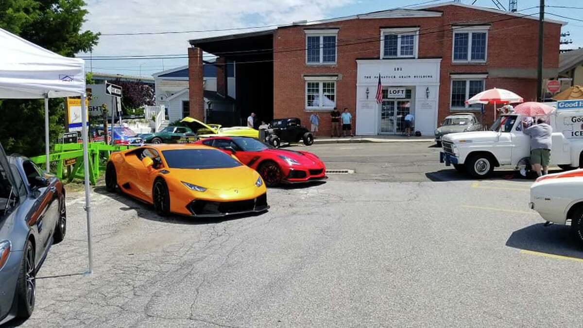 A previous Car Cruise event held by the Westport Police Benevolent Association. The annual Car Cruise was postponed to Saturday, Aug. 21 due to weather concerns.