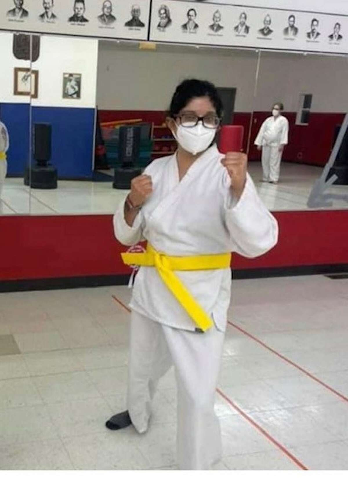 3. In 2019 I became a certified Rape Aggression Defense R.A.D. self-defense instructor. This was a program developed by the police to teach self-defense as a tool to prevent sexual assault and other attacks. I teach self-defense to the students at Transitions. This got me interested in martial arts. I currently have my yellow belt in Zen Do Kai karate and my goal is to get a black belt one day.