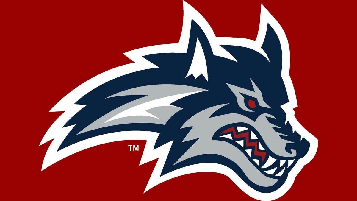 The Stony Brook Seawolves logo. School lawyers contacted the Albany FireWolves about the resemblance between their original wolf's head logo and Stony Brook's. (Stony Brook)