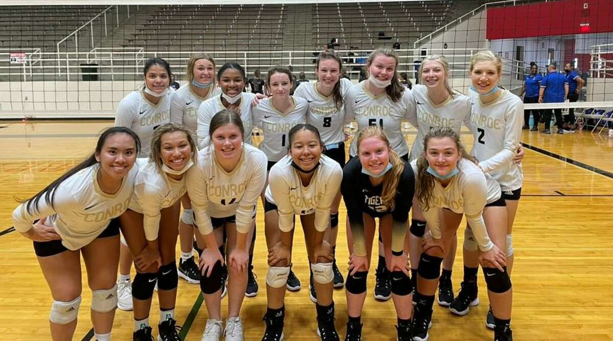 The Conroe volleyball team won the silver bracket of the Austin ISD Tournament on Saturday August 14, 2021.