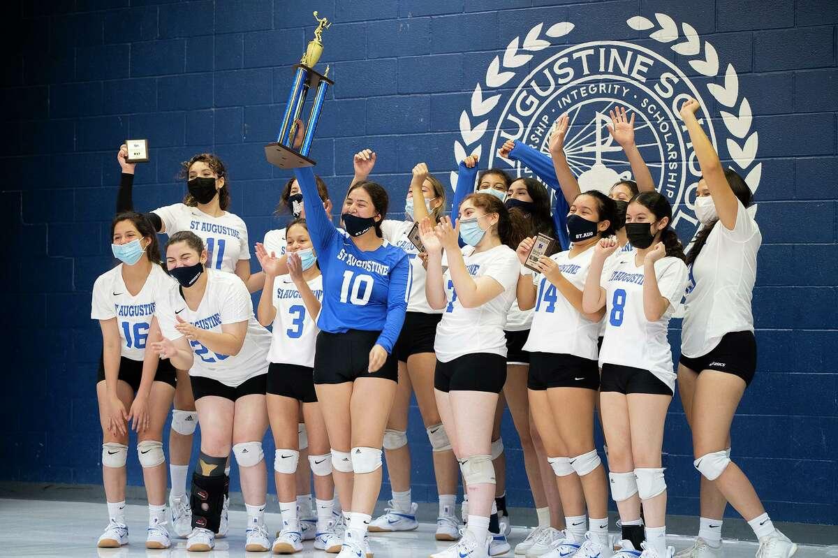 St. Augustine won the Marissa Keene M.D. Memorial Volleyball Tournament on Saturday.