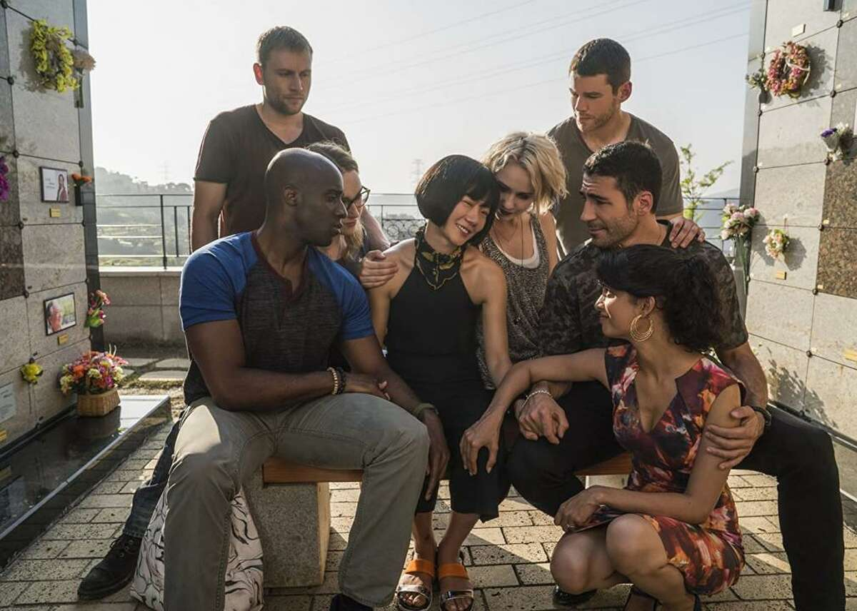 """#100. Sense8 - IMDb user rating: 8.3 - Years on the air: 2015-2018 Though Netflix cancelled its sci-fi drama """"Sense8"""" following season two, fans and critics praised its striking visuals-nominated for a Primetime Emmy for Cinematography-and LGBTQ+ thematic/character representation. Eight strangers find themselves psychically connected for unknown reasons and battle both this mystery and their hunters, the Biologic Preservation Organization, who, ever-applicably, despise the sensate breed's differences."""